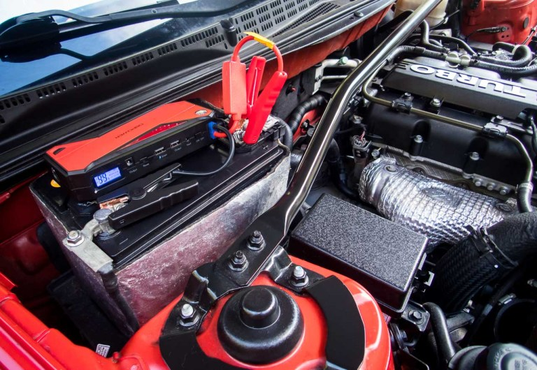 Having to jump-start your car when you're late to work is no fun. While portable jump starters have made the job a lot easier, it's best to keep an eye on voltages.