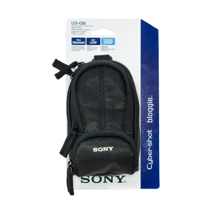 The Sony LCSCSU is a pretty nice camera case, but it is better suited for smaller devices.