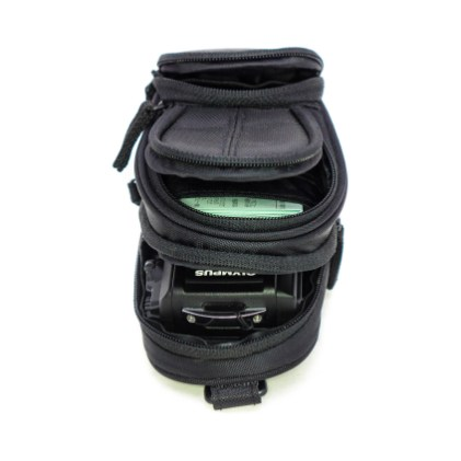 And one nice thing about this camera pouch is the variety of storage pockets.