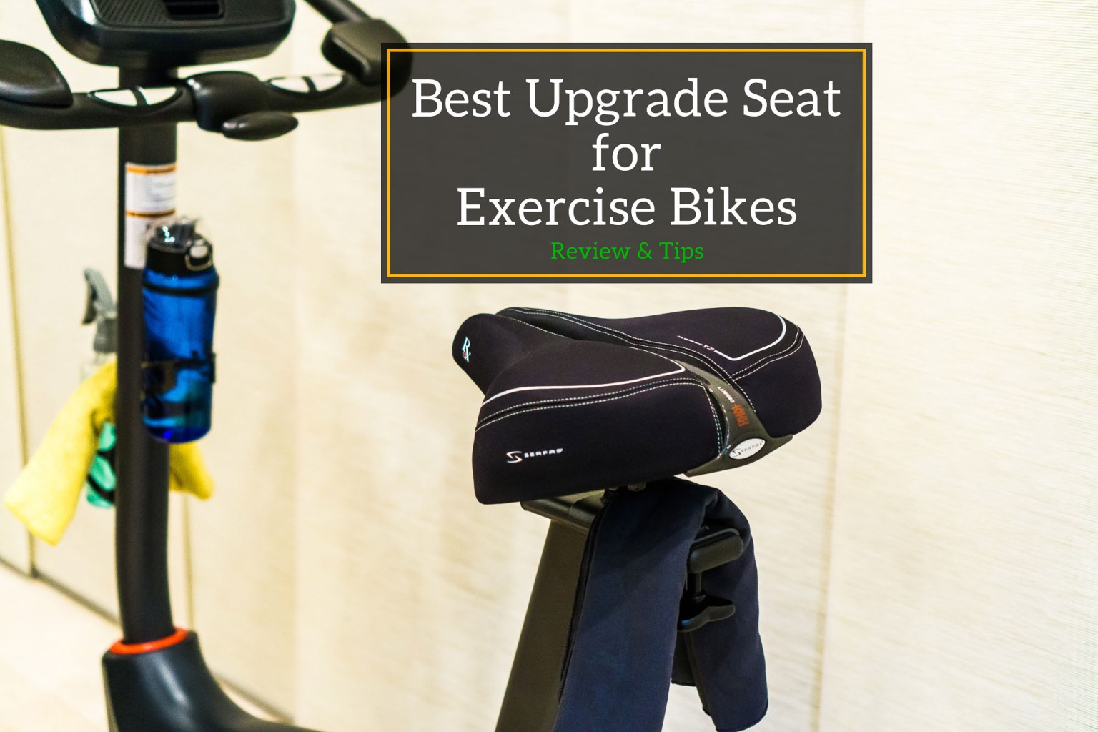 Best Exercise Bike Seat for the Schwinn 170 - Title Thumbnail