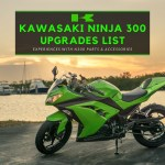 Kawasaki Ninja 300 Upgrades List - Worthy Mods & Accessories for bikes