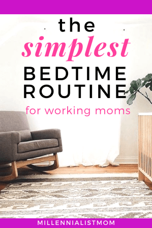 SAVE FOR LATER! sleep training doesn't have to be hard. And I know you don't want to traumatize your little baby just to get some sleep. But when a mom has to work, some things are non negotiable. And since you can't spend all day, Everyday winding down before bed, the simplest bedtime routine for working moms has to be short, sweet, and effective! These foolproof sleep training rules will do just that and relieve some unwelcome sleep deprivation!