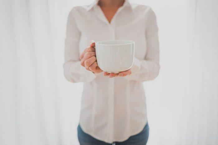 mom oxford & coffee mug