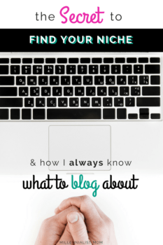 the tricks to Never run out of content! Finding a niche that gives you freedom to talk forever... How I always know what to blog about, and you can too. Blogging is easy, but it's easier to get overwhelmed trying to copy others. Your personal journey has it's own spin. Find yours today!