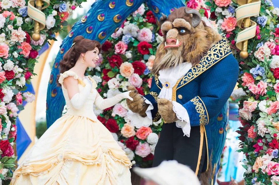 Be Our Guest with Belle and the Beast
