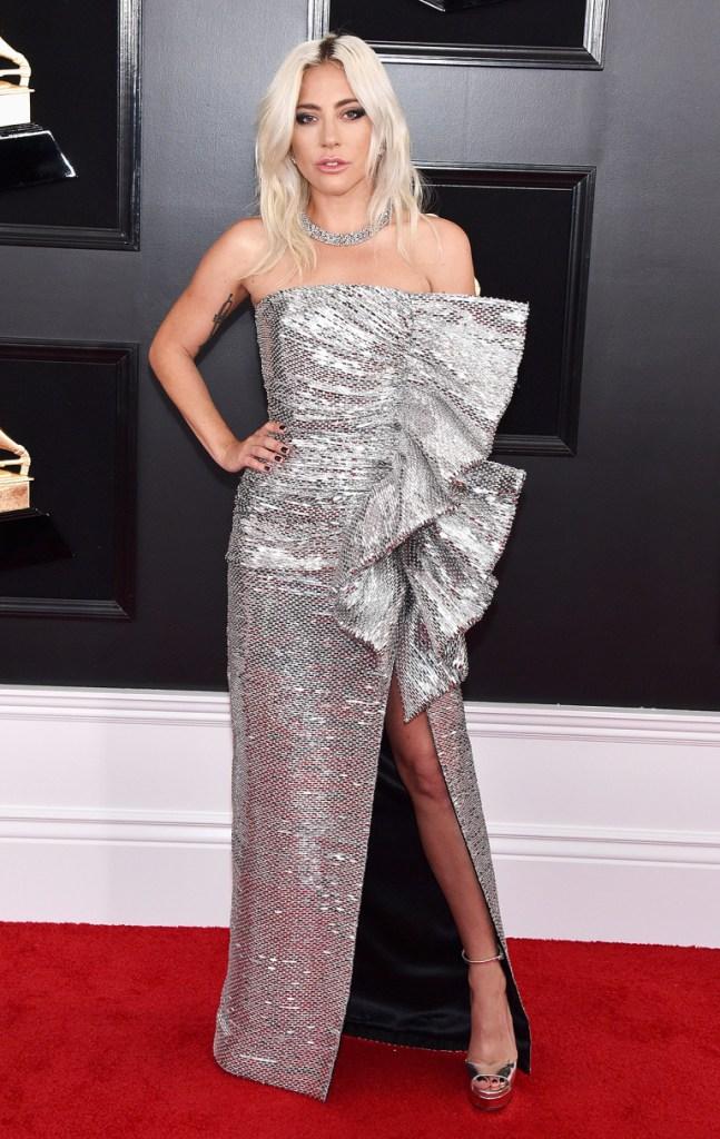 Lada Gaga at the 2019 Grammys