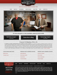 Southern Institute for Medical & Legal Affairs | View Design