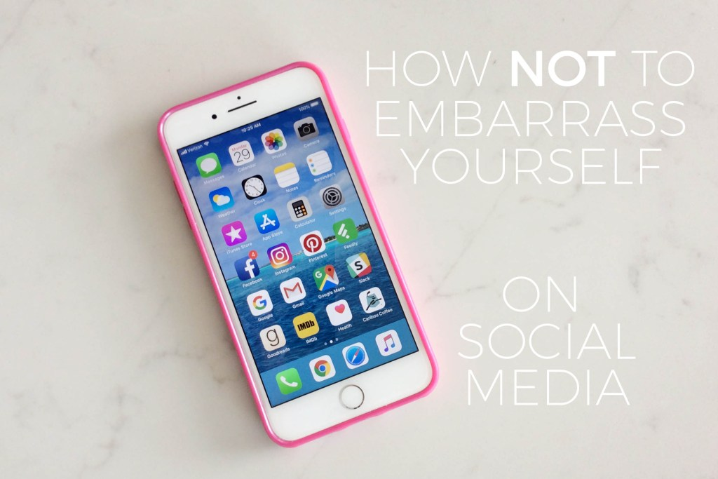 How Not to Embarrass Yourself on Social Media | Millennials with Meaning