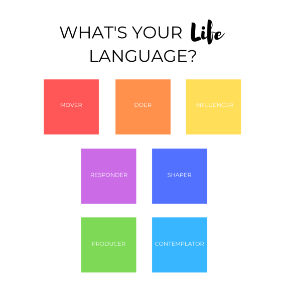 What's Your Life Language?