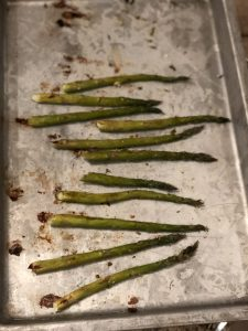 Roasted asparagus - A Sample Daniel Fast Meal Plan | Millennials with Meaning