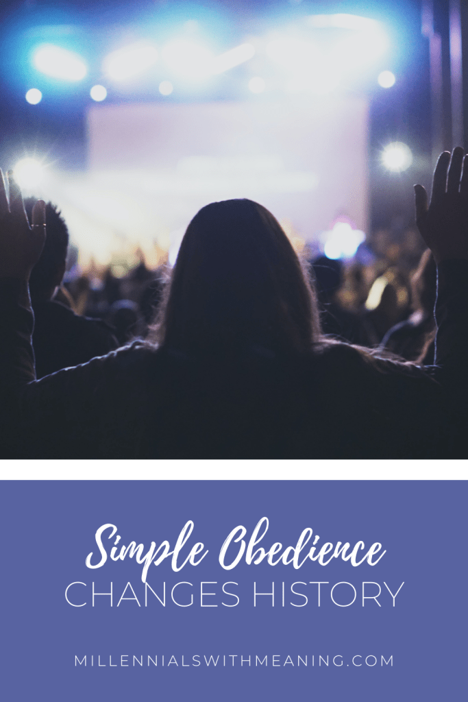 Simple Obedience Changes History | Millennials with Meaning