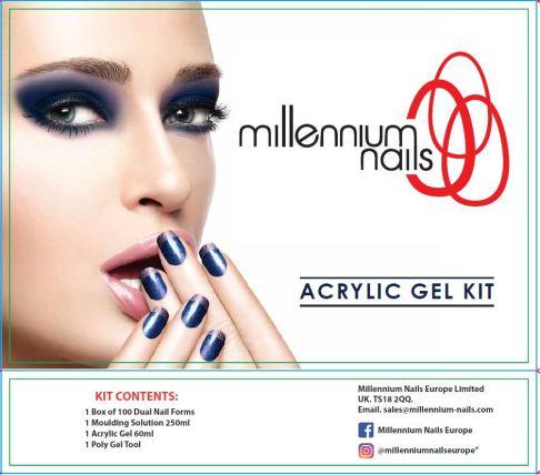 Acrylic Gel Kit Millennium Nails