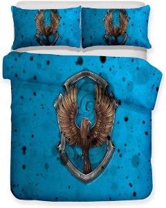 Set copripiumino Harry Pottere - sacco copripiumino + federa (50% cotone/poliestere)