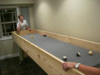 Log - Building a CarpeTball Table