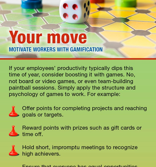 Your Move – Motivate Workers with Gamification