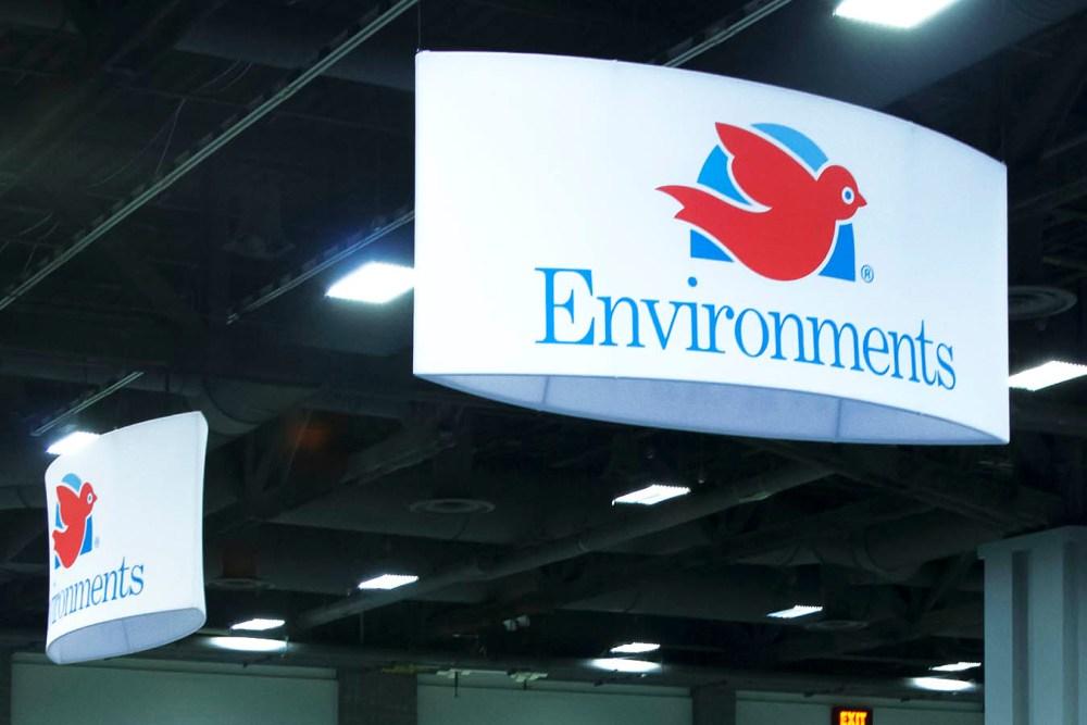Hanging Logo Banner