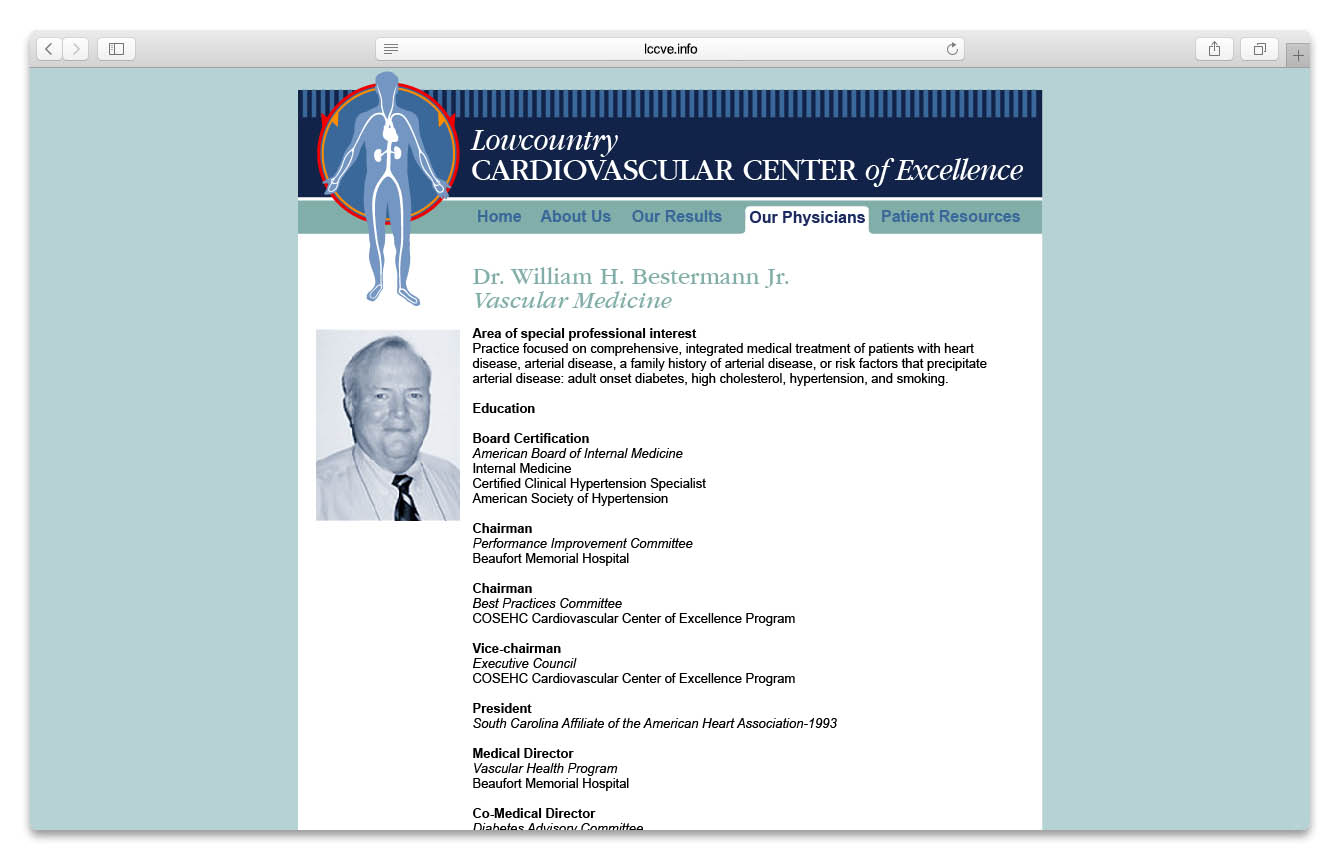LCCVE Physicians Page