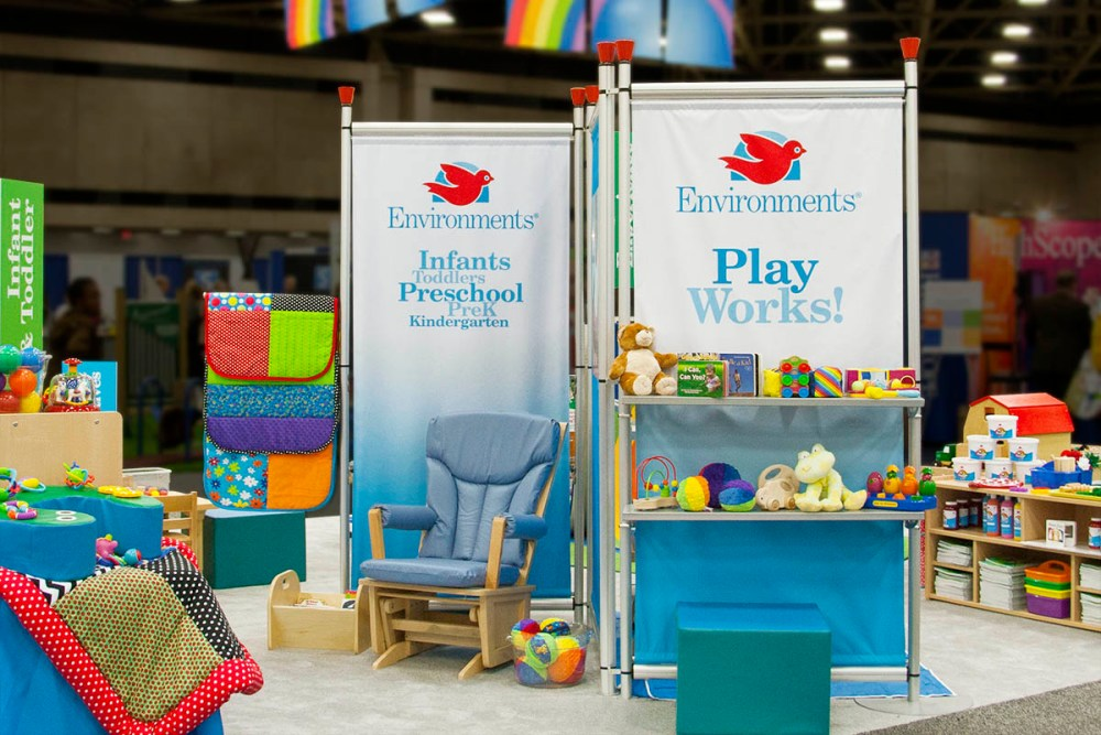 NAEYC display booth