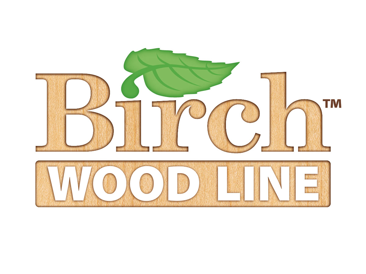 Birch Wood Line Furniture logo design