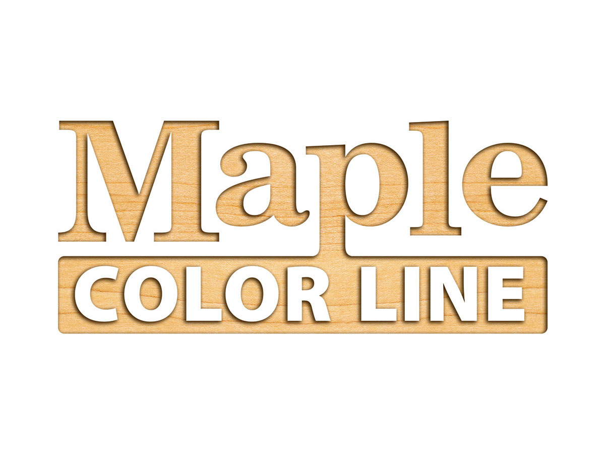 Maple Color Line Furniture logo design