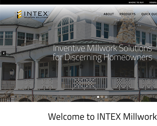 Intex Millwork Website