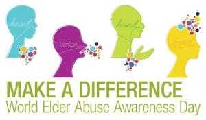 World Elder Abuse Awareness Day is June 15.  Protecting against abuse, neglect, and exploitation