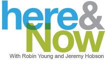 Here and Now logo for a story on right to die