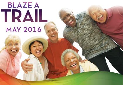 image of older adults celebrating older americans month