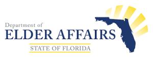 elder affairs logo warning of phone scam