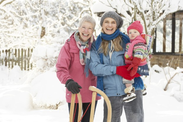 senior safety tips during the winter