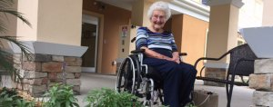 shannon miller's grandma in an assisted living facility
