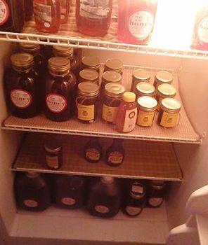 The honey warmer has been restocked!