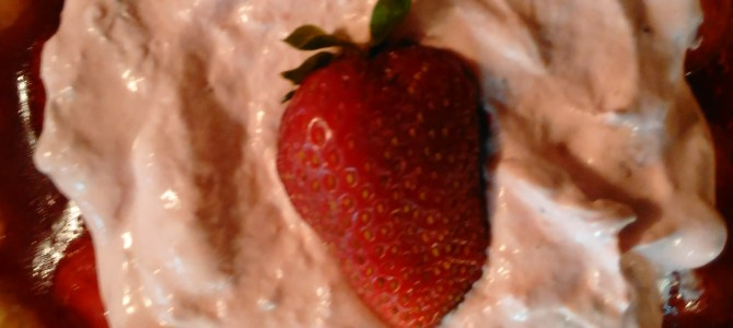 Strawberry update and Strawberry Pies