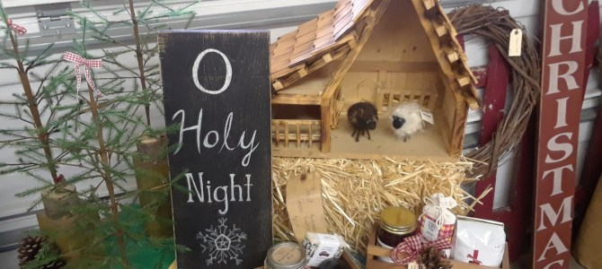 Check out our Market as we transition to the Christmas Season!
