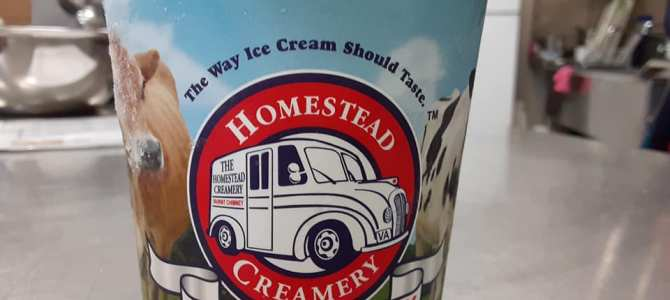 Homestead Creamery ice cream is now hear!