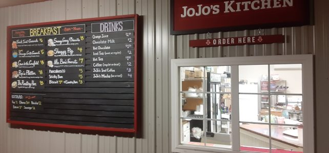 Saturday, at Miller Farms!  Yes, we are serving BREAKFAST this morning, 8am-noon.
