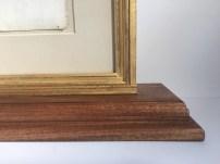 double-sided frame back bottom right corner