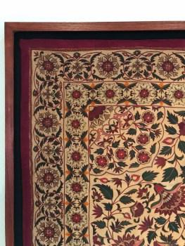 Floral Quilt Top Left