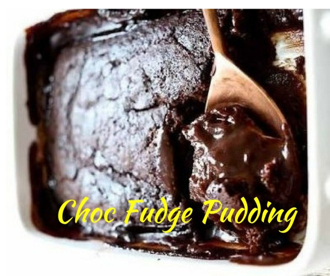 Choc fudge pudding
