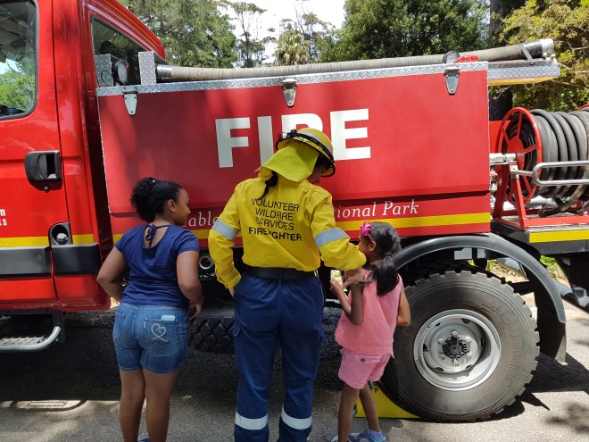 Sunday Photo Volunteer Wildfire Services Open Day