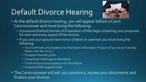 default-divorce-hearing