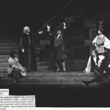 As Polonius in%22 Hamlet%22