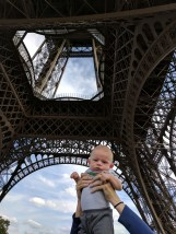 Theo and the Eiffel Tower