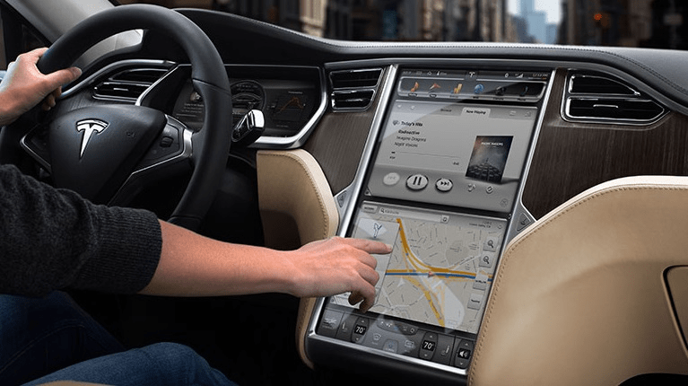 Tesla Model S embedded system