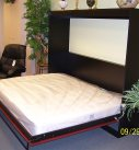 Miller's Murphy Beds - Panel Door, Side Mount Wall Bed