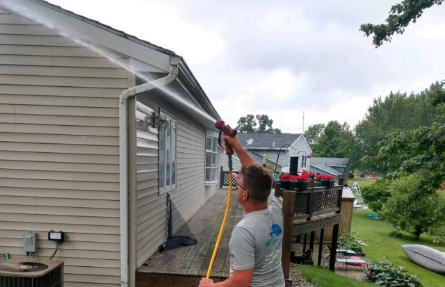 House Washing by Kenneth Miller