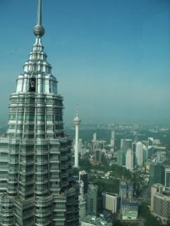Sicht von einem der Petronas Towers