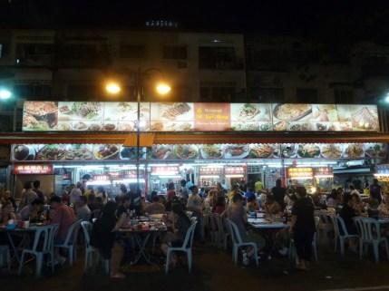 Restaurant an den Hawker Stalls