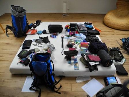 Beim Packen