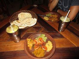 Abendessen im Tandoori Hut